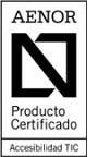 Logo de certificación TIC AENOR